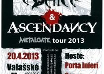 Metalgate tour kapel Abstract Essence a Ascendancy míří do Valmezu