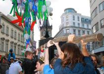 Májka odstartuje měsíc studentských oslav