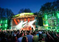 Majáles postaví největší české festivalové pódium