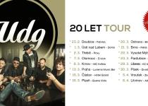Kapela UDG začíná slavit a vyráží na jarní turné