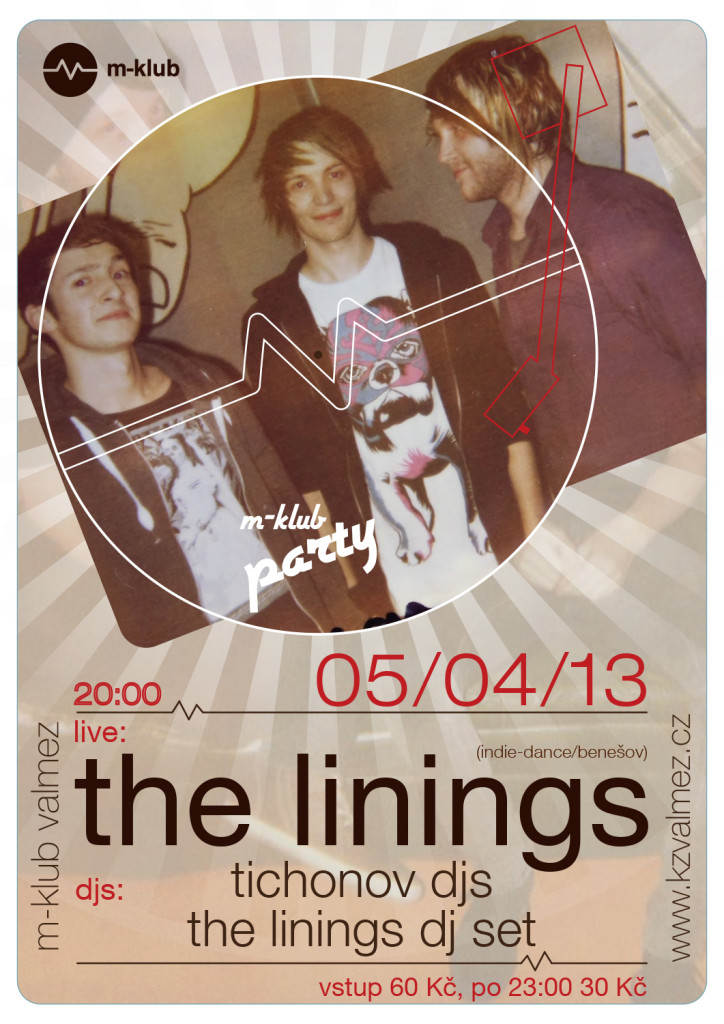 M-klub party 05-04 The Linings